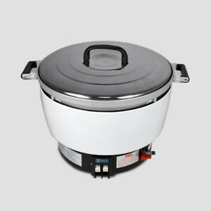 2 8kpa Natural Gas Commercial Rice Cooker 50 Cups 10l Capacity