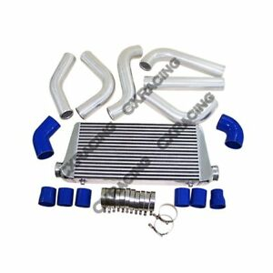 Front Mount Intercooler Diy Kit Ford Mustang Turbo Or Supercharger On Pass Blue