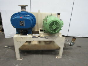Sutorbilt 8hp Gahhnpa 50hp Positive Displacement Blower Package 460v 3ph