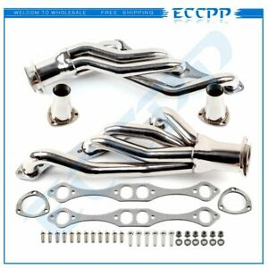 Ss Clipster Header Manifold Exhaust For Chevy Small Block Sbc A F G 5 0 5 7 6 0