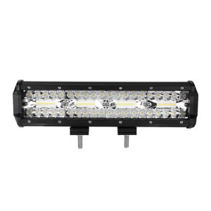12 Inch 864w Cree Led Work Light Bar Flood Spot Suv Driving Lamp Offroad 4wd 22