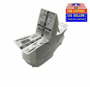 4000 Fanfold 4 X 6 Direct Thermal Labels Shipping Barcode Labels Zebra Ups