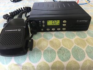 Motorola Gtx Model M11ugd6cb1an Radio With Mic