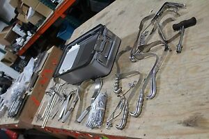 Lot Of Surgical Tools Storz Pilling Zimmer Mueller With Case