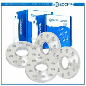 4pc Hub Centric Wheel Spacers 5x100 5x112 10 Ball Bolts Fits Audi Volkswagen