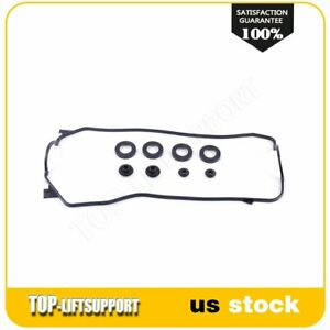 For 88 91 Honda Civic Si Rt Crx Si 1 6l L4 Sohc 16v Valve Cover Gasket D16a6