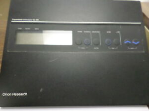 Used Orion Research Digital Expandable Ionanalyzer Ea920 Power S138 Metal Black