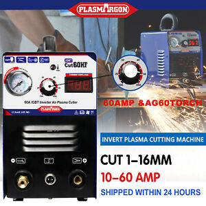 Igbt Cut60 Plasma Cutter Machine110 220v 3 4 Clean Cut Ag60 Torch