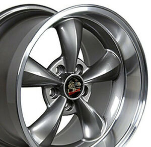 17 Rim Fits Ford Mustang Bullitt Fp01 Anthracite 17x10 5 Wheel Rear Only