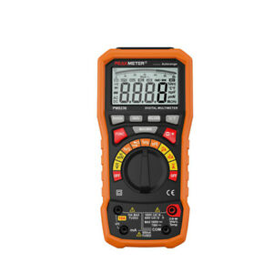 Peakmeter Digital Multimeter T rms Usb 10a Duty Cycle Temperature Voltmeter