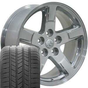 20 Rims Tires Fit Dodge Ram Durango Polished Wheels Gy Tires 2364