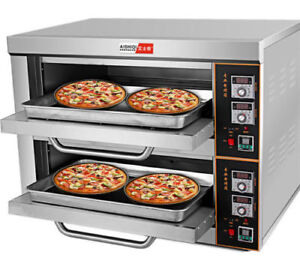 220v 6kw Commercial Electric Baking Oven Professional Pizza Cake Bread Oven