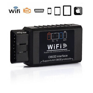 Obd2 Car Wifi Interface Diagnostic Tool Scanner Elm327 V1 5 For Iphone Mac Ios