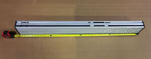 3 X 6 X 48 Extruded Aluminum T slotted channel Structural Beam 75mm X 150mm