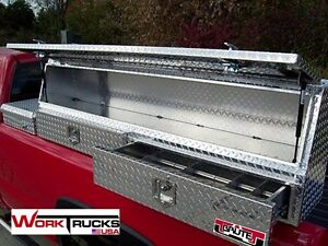 Topsider Truck Tool Box With Drawer 60 High Side Top Mount Toolbox Topside