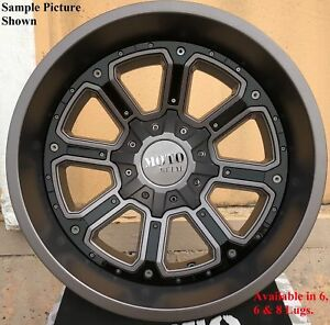 4 New 17 Wheels Rims For Dodge Ram 3500 8 Lug Hummer H2 21722