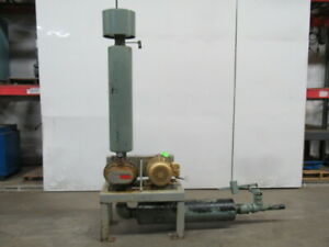 Fuller 5mb 7 5hp Positive Displacement Blower Package 230 460v 3ph