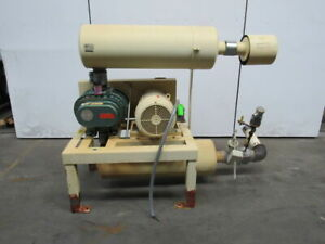 Fuller 6mf 20hp Positive Displacement Blower Package 230 460v 3ph