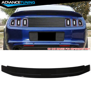 Fits 10 14 Ford Mustang Oe Factory Trunk Spoiler Oem Painted Color Ua Black