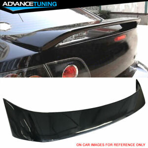 Fit 04 09 Mazda 3 Sedan 4 Door Factory Trunk Spoiler Oem Painted 16w Black Mica