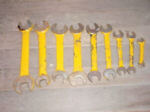 9 Vintage Armstrong Wrenches Tools