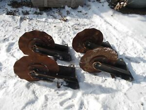 4 Kinze John Deere No till Planter Coulters