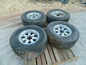 Toyota Suv Truck Wheels Tires Rim And Tire 17s 6 Lugs Set 4 13x12 50r17lt