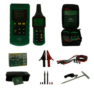 Ms6818 Underground Metal Pipe Wire Cable Locator Tracker Tester Profession New