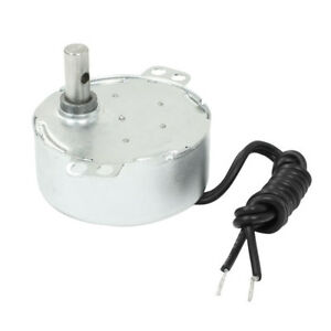 Tyc 50 49 Synchronous Motor 220 240v 4w 0 8 1 2 5 3 5 6 8 10 10 12 36rpm Magnet