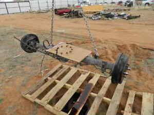 Toyota Tundra Double Cab V8 4 7l Rear Differential Axle Housing W o 3rd Member
