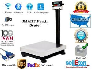 Smart Bench Scale With Cap Of 600 X 02 Lb With Rs 232 Port Fed Ex