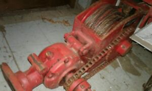 Pasquali Logging Winch For European Type Tractors