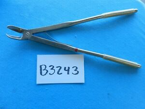 V Mueller Surgical Cardiovascular Thoracic Cooley Rib Shears Ch350