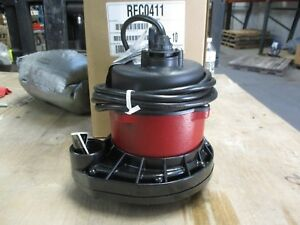Red Jacket 115v Submersible Pump 12131203j Cat rec0411 4 10hp 1 60 115 Nib