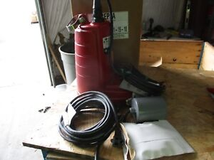 Red Jacket Rep3a Submersible Pump 1215845j Cat rep3a 12 0 Max Amps 1ph 60hz Nib