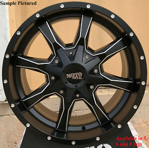4 New 18 Wheels Rims For Nissan Nv 1500 2500 3500 8 Lug 21736