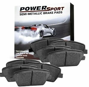For 1998 2000 Kia Sephia Spectra Front Rear Semi metallic Brake Pads