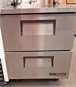 True Tuc 27d 2 hc 27 Under Counter Refrigerator With Two Drawers U2456