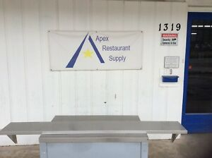 88 X 12 Stainless Steel Wall Shelf Commercial Kitchen 2781