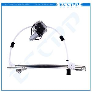 For 2002 2007 Jeep Liberty Rear Passenger Side Power Window Regulator With Motor