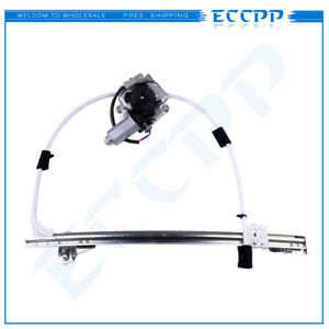 Power Window Regulator For 2002 2007 Jeep Liberty Rear Right With Motor