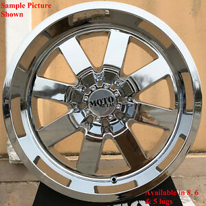 4 New 20 Wheels For Chevy Gmc Silverado 2500 3500 8 Lug 21741