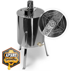 Pro Electric 4 8 Frame Stainless Steel Honey Extractor Beekeeping Equipment Drum