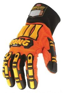 Ironclad Mechanics Gloves 2xl Orange yellow Sdx2 06 xxl Nib