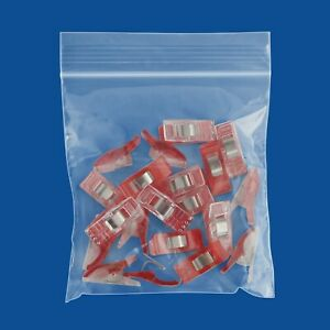 3000 4 X 4 Ziplock Bags 2 Mil Zip Plastic Poly Reclosable Clear Small Bags