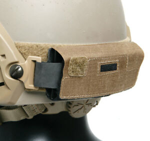 Ops-Core Rear Counterweight Helmet Kit for use with NVG Goggles GoPro