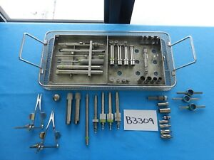 Codman Surgical Orthopedic Cervical Spine Spinal Set With Tray