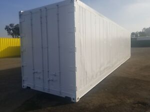 40 High Cube Reefer Non op Cold Storage Shipping Container Containers la