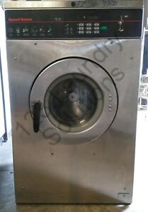 Speed Queen Front Load Washer Coin Op 20lb 3ph 220v Scn020jy2ou1001 Used