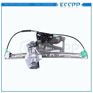 Power Window Regulator For 2000 2001 Cadillac Deville Front Left With Motor